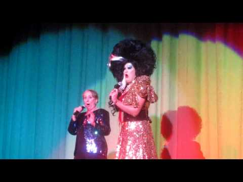 Peaches Christ and Mink Stole perform 'Female Trouble'