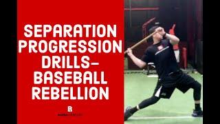 Separation Progression Drills - Baseball Rebellion