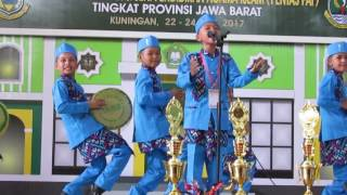 "Video LOMBA REBANA TINGKAT PROVINSI ""PENTAS PAI TINGKAT SD SE-JABAR"" download MP3, 3GP, MP4, WEBM, AVI, FLV Mei 2018"