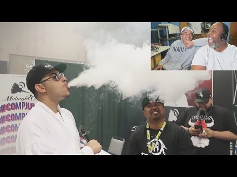Dad Reacts to VAPE LORD NORD goes to VAPE CON! @FaZe_Rain