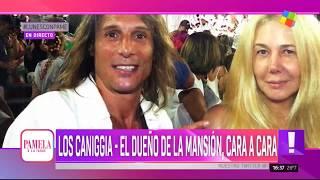 Los Caniggia vs El dueño de la mansión. Pamela a la Tarde (01/04/2019)