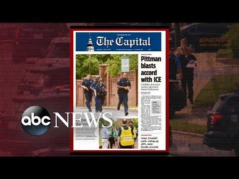 New details on suspect in Maryland newspaper mass shooting