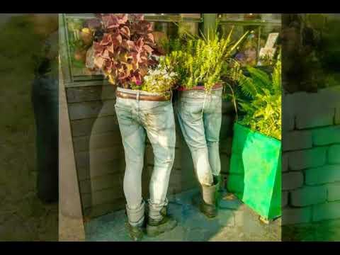 Creative Ideas Make Old jeans Planter !!! Amazing !!