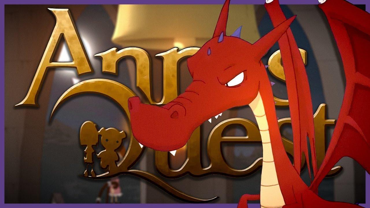 ANNA'S QUEST 🧸 017: Die Legende vom Roten Drachen