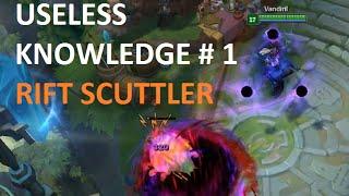 Useless Knowledge #1 - Rift Scuttler