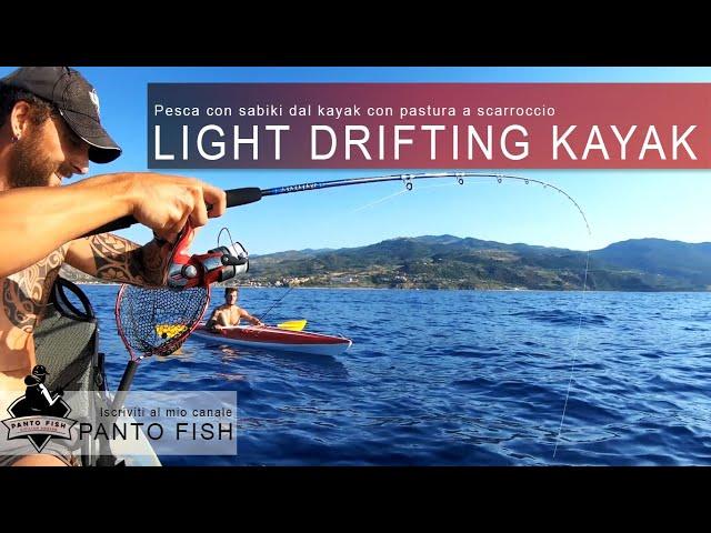 Light drifting dal Kayak - Pesca con pasturazione a scarroccio
