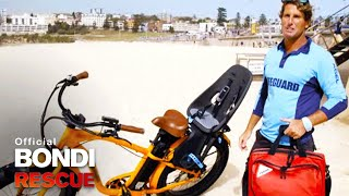 Electric Bike vs Buggy Will Harries New Idea Give Bondi Lifeguards the Edge