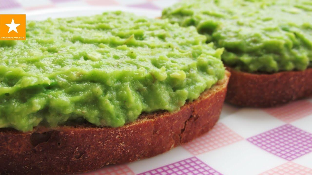 Диета! Быстрый и полезный перекус из авокадо!