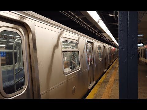 NYC Walk ⁴ᴷ⁶⁰ : Taking The Subway In New York