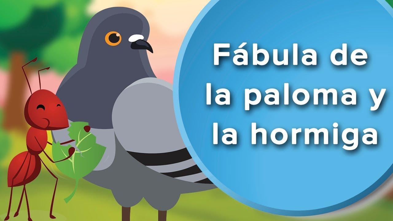 Fábula de la Paloma y la Hormiga | Cuentos con moraleja para niños