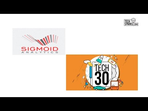 Sigmoid Analytics at TechSparks 2014 Grand Finale