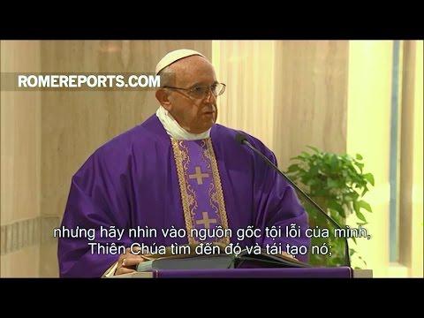 Đức Giáo Hoàng muốn các Kitô hữu đừng che giấu tội lỗi của họ