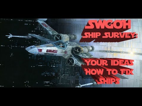 SWGOH Survey: What Players Want from Ships in Galaxy of Heroes