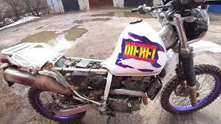 Неправильная Работа Мотора Suzuki Djebel 250 Джебель