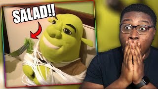 SHREK LOSES WEIGHT! | SML Movie: Shrek's Diet Reaction!