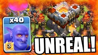 Clash Of Clans | WOW! THEY ARE SO OP!?! UPDATED BOWLERS MASS ATTACK GAME PLAY!