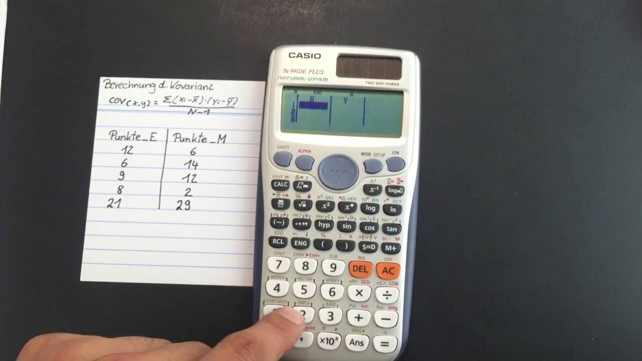 Standardabweichung Mit Taschenrechner