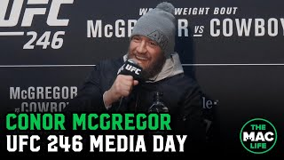 Conor McGregor on Donald Cerrone respect, possible March return and Masvidal/Usman