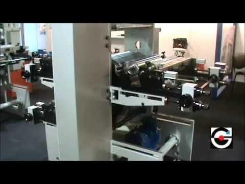 Máquina impresora flexográfica 6 colores au. 450 mm.