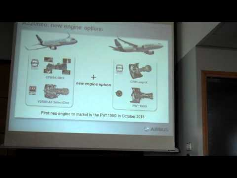 Airbus' COO Customers John Leahy at NEO Technical Briefing