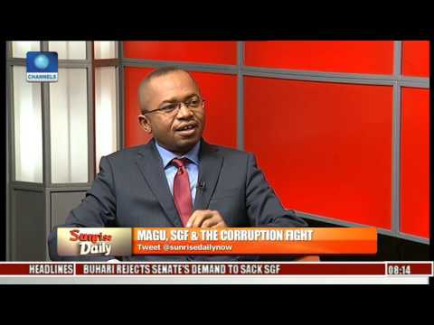 Resolution Of The Senate On SGF Should Be Respected  - Legal Practitioner Pt 1