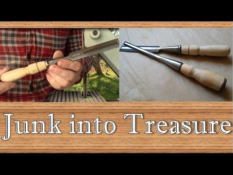Vintage Chisel Restoration - Turning junk into treasure