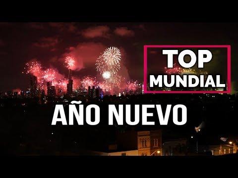 ¡Feliz 2019! Fin de Año y Año Nuevo en el mundo, celebración y fuegos artificiales  (2016-2017)