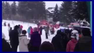 elisoccorso    senza freno a mano!!! Oberwiesenthal 26 01 2014