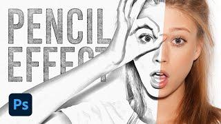 Bleistift-Skizze-Zeichnung-Effekt-Photoshop Tutorial