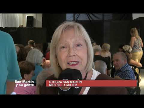 SAN MARTIN Y SU GENTE 15 de Marzo 2020