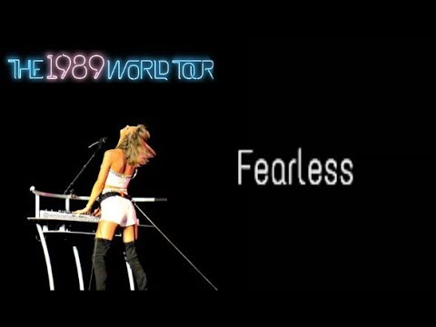 Fearless (Acoustic) (Live 1989 World Tour) Audio