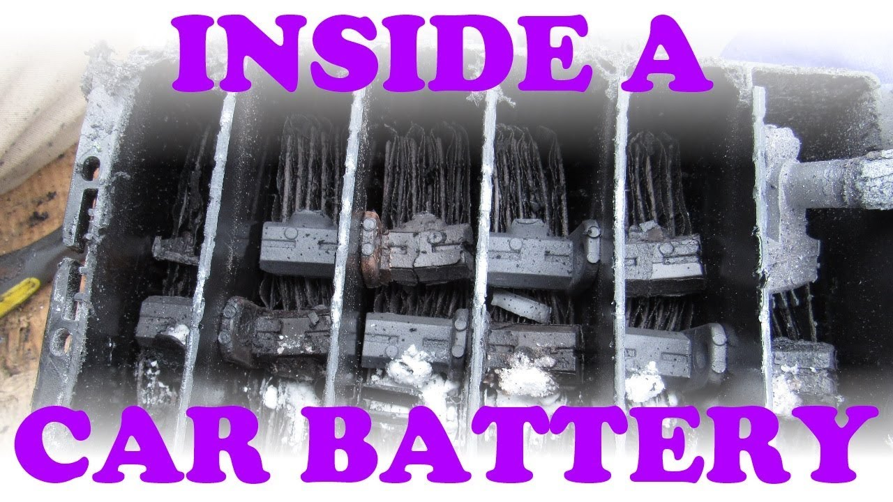 How a Car Battery Works - YouTube