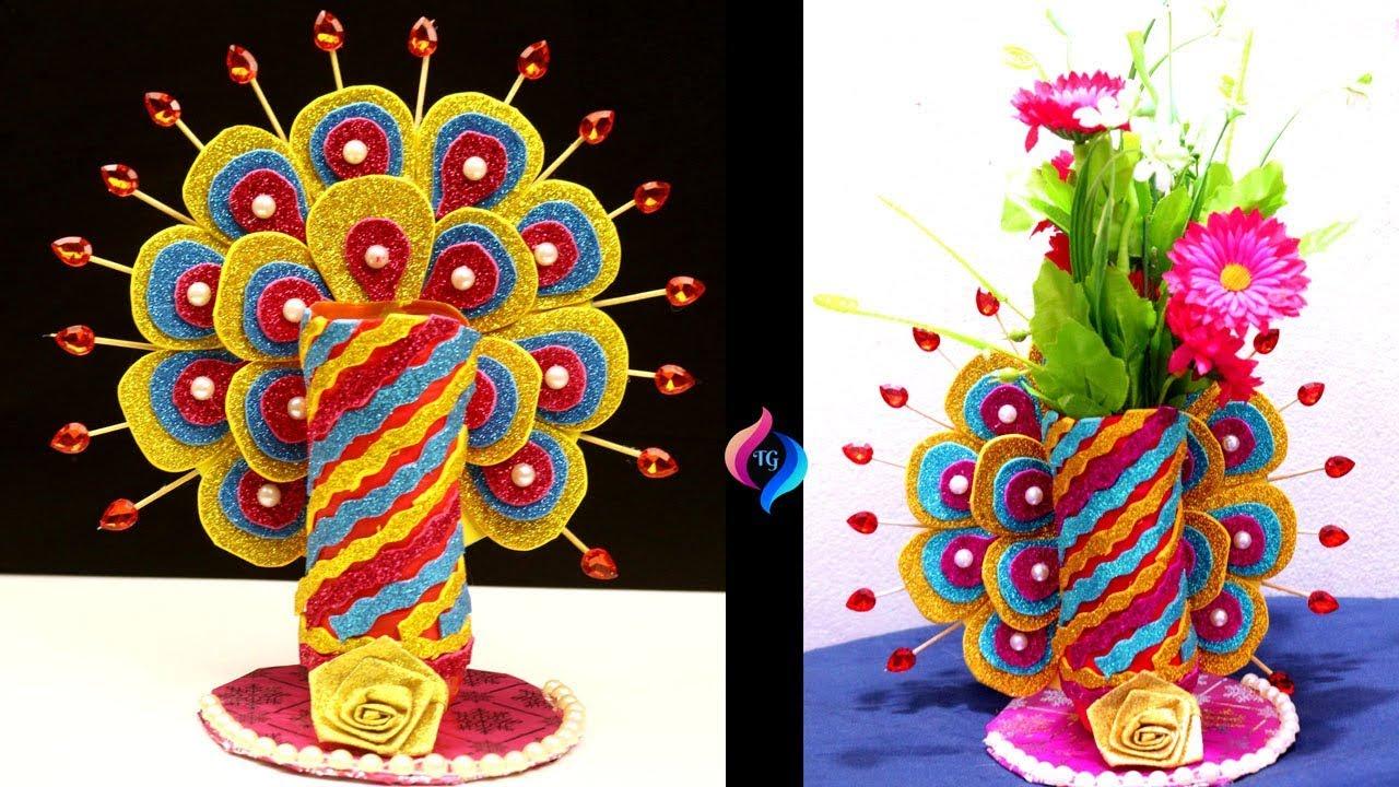 New Best Out Of Waste Ideas For Flower Vase Plastic Bottle Craft