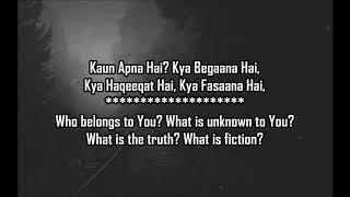 Tu Pyaar Hai Kisi Aur Ka Unplugged Cover Rahul Jain Lyrical Video With Translation