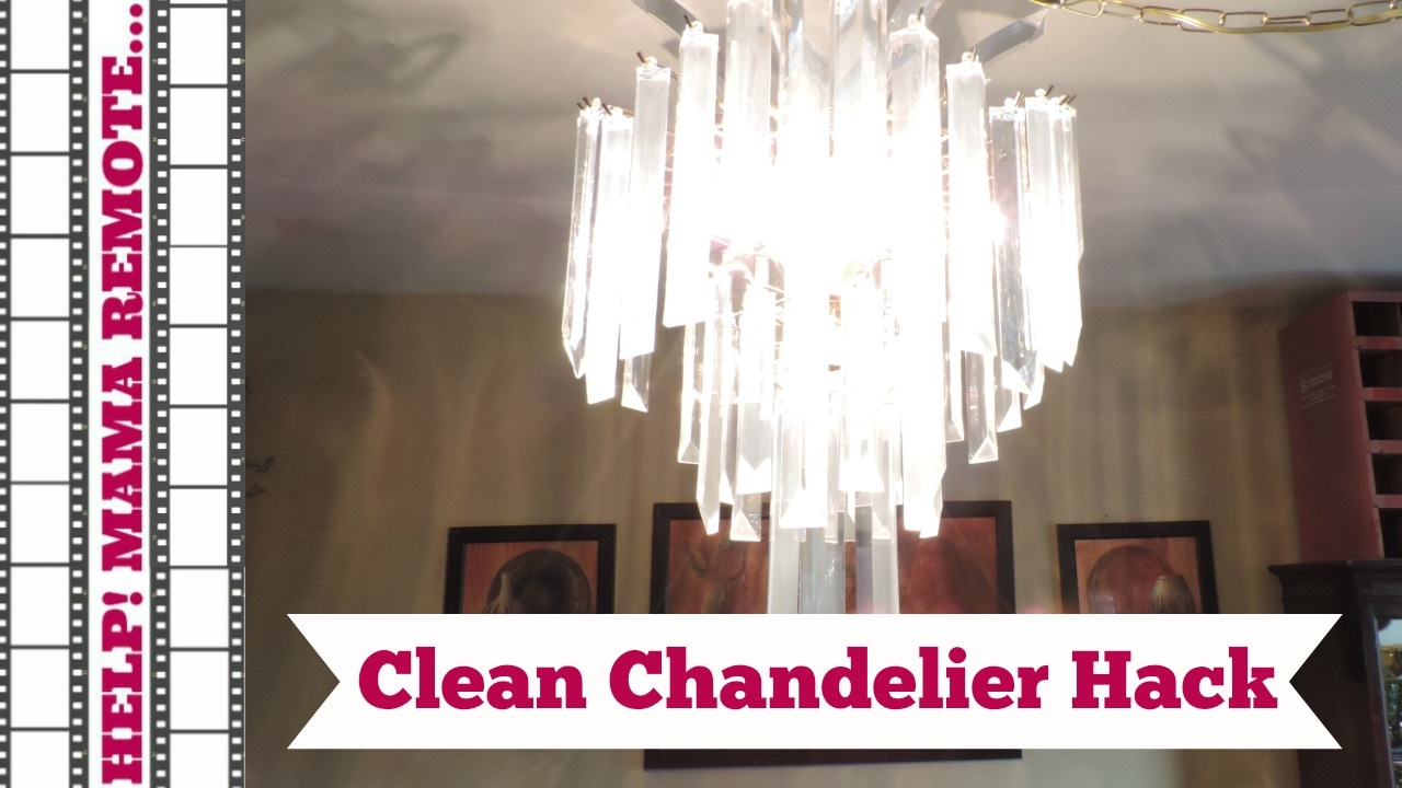 Chandelier cleaning hack youtube chandelier cleaning hack arubaitofo Images