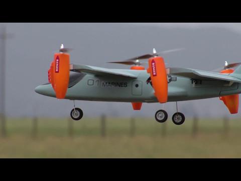 V-Hawk X4 RTF Vertical Take Off (VTOL) Airplane/Drone by Ares RC
