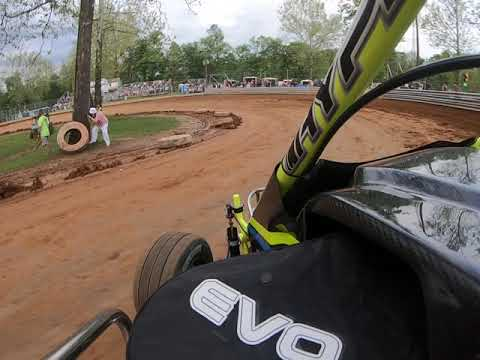 Christian Bruno Hot Laps at Shellhammers