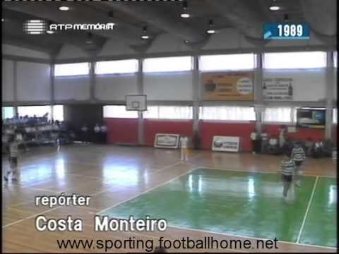 Voleibol :: Leixões - 3 x Sporting - 1 de 1988/1989 Final da Taça de Portugal