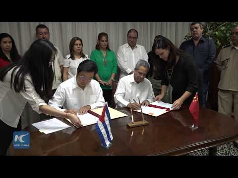 China delivers $36 million in development aid to Cuba