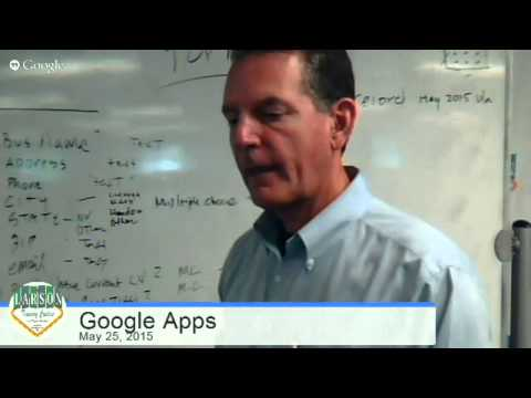 Larson Training Centers (Las Vegas) Google Forms (day 1 & 2)