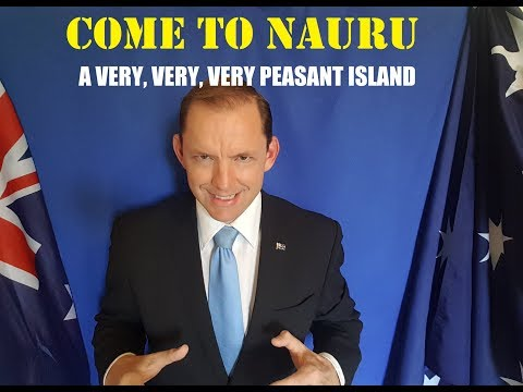 Nauru Tourist Ad