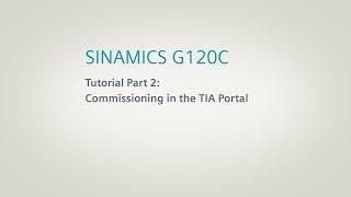 SINAMICS G120C, Tutorial Part 2 thumbnail