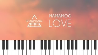 [Goblin OST] 마마무 (MAMAMOO) - Love Piano Cover