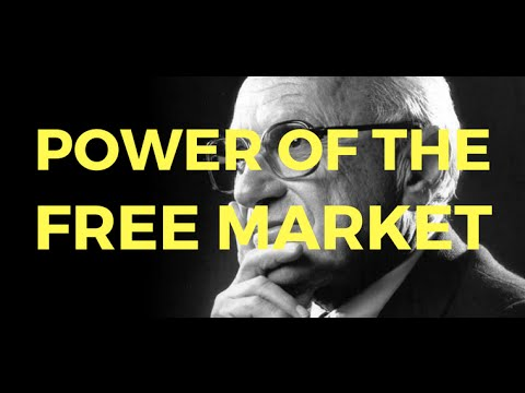 Milton Friedman on the power of the free market