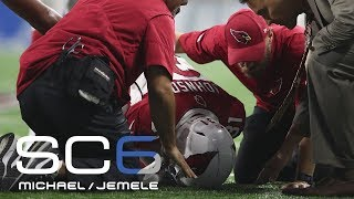 David Johnson's wrist injury: Bigger impact in reality or fantasy? | SC6 | ESPN