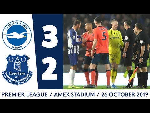 HIGHLIGHTS: BRIGHTON 3-2 EVERTON