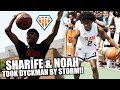 SHARIFE COOPER & NOAH FARRAKHAN TOOK NYC BY STORM!! | Sauciest Point Guards GET BUSY at Dyckman