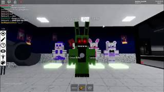 How to create funtime springtrap in roblox FNAF RP