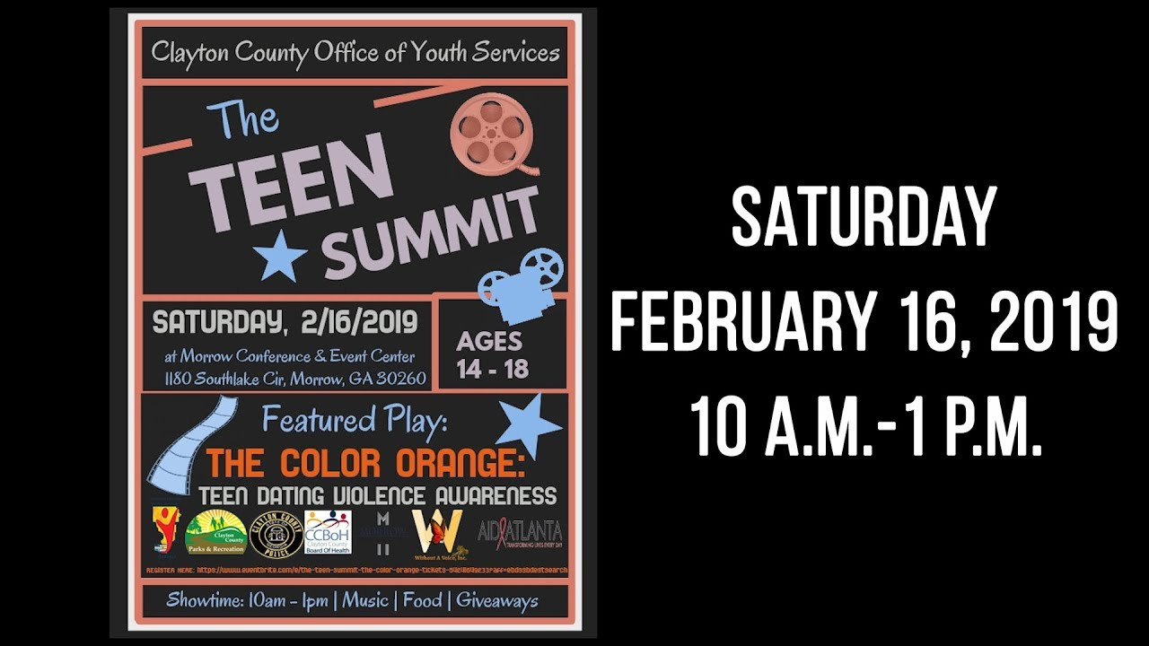 Clayton County: Teen Summit 2019 Promo | Clayton County