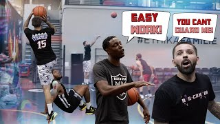 Team Darren Collison Trash Talks Team Whit3 Iverson and Gets EXPOSED!